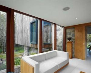 Отделка стен гипсокартоном в деревянном доме