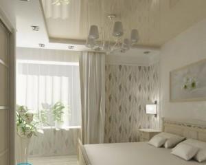Натяжной потолок — освещение, варианты