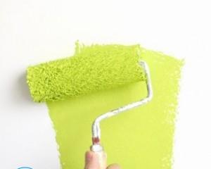 Как покрасить потолок водоэмульсионной краской по побелке?