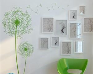 Как повесить картину на стену из гипсокартона?