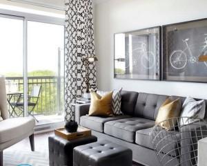 Как расставить мебель в комнате 18 метров?