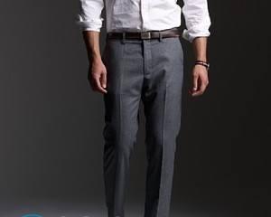 Как убрать лоск с брюк от носки?