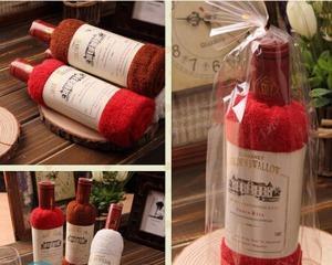 Бутылка из полотенца своими руками