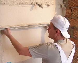 Зачем ровнять стены в панельном доме?