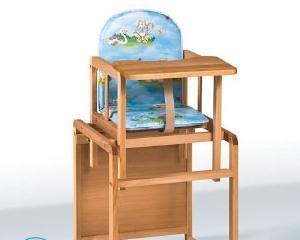 Как собрать стульчик для кормления?
