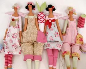 Одежда для кукол Тильда своими руками — выкройки