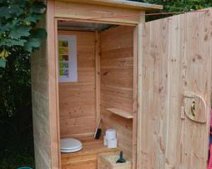 Туалет на даче без запаха