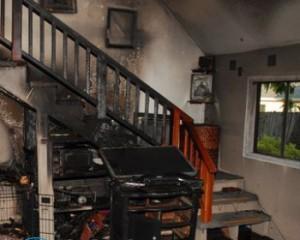 Очистка после пожара