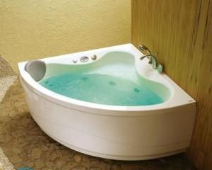 Как установить ванну на кирпичи?