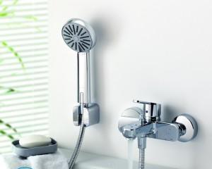 Устройство смесителя для ванной с душем — ремонт
