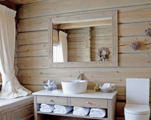 Дизайн ванной под дерево, как сделать быстро и качественно