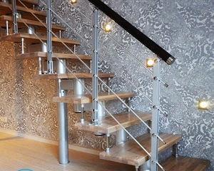 Как сделать перила для лестницы своими руками из металла?