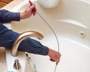 Устранение засора в канализации