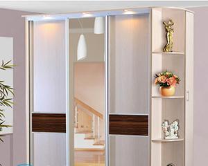 Как снять зеркало с дверцы шкафа?